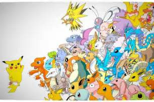 All Pokemon Characters Names with Go