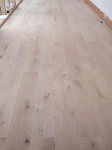 Oak engineered floorboards treated with hardwax oil in for Wood flooring leicester