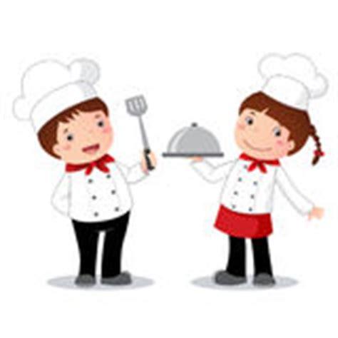 clipart cuisine gratuit enfants de chef et ensemble de clipart images graphiques