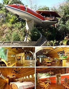 727 Fuselage Home at the Costa Verde resort in Costa Rica ...
