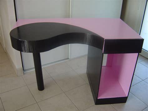 fabriquer bureau informatique tutoriel fabriquer un bureau en femme2decotv