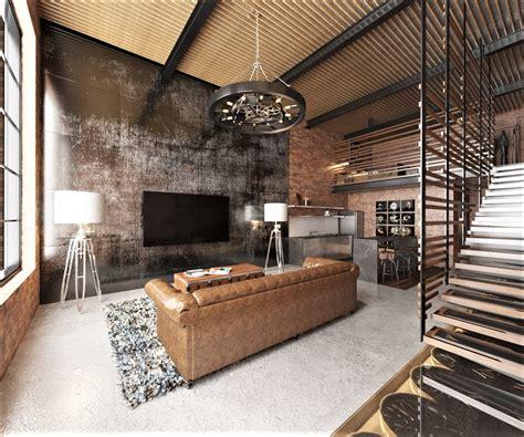 industrial warehouse loft design ideas