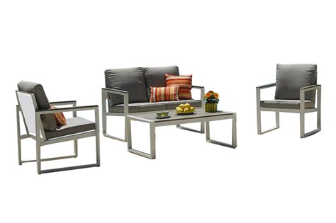 Kontiki Cube Patio Furniture by Kontiki Conversation Sets Composite Chat Set Positano Ii