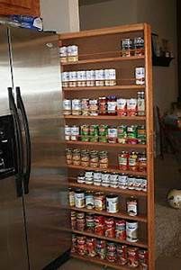 Slide, Out, Pantry, Fits, In, Wasted, Space, Between, Fridge, And, Wall, I, Have, A, Large, Pantry, And, Have, No
