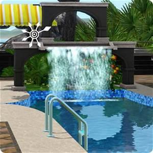 Wasserfall Für Pool : sims 3 tutorial resort selber bauen ~ Michelbontemps.com Haus und Dekorationen