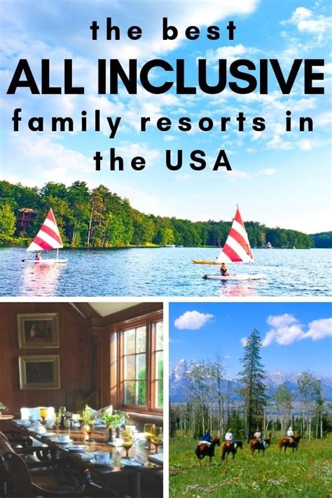 the best all inclusive family resorts in the usa family