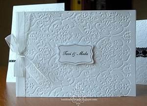 simple black and white wedding invitations invitatii de With black and white handmade wedding invitations