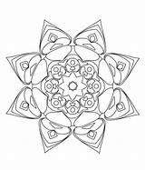 Trippy Coloring Mandala Pages Pour Pencil Drawings Adult Enfants Adultes Coloriage Stci Mandalas Et Uploaded User sketch template