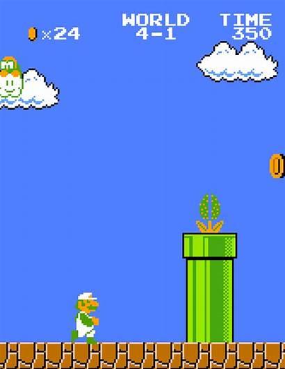 Luigi Games Mario Super Gifs Nes Animated