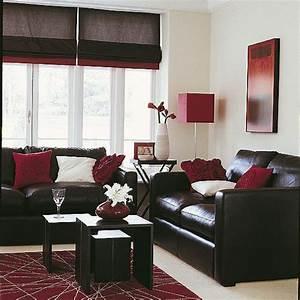 la couleur bordeaux un accent dans linterieur contemporain With tapis de gym avec salon canapé cuir