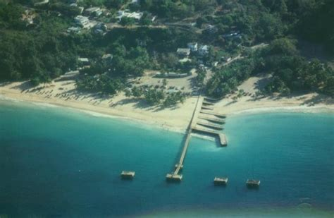 Crash Boat Location by Aerial View Of Crashboat Beach And Piers Picture Of