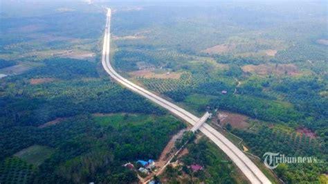 pembangunan jalan tol pertama  ibu kota  rampung