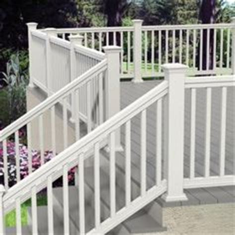 veranda  ft    white traditional stair kit