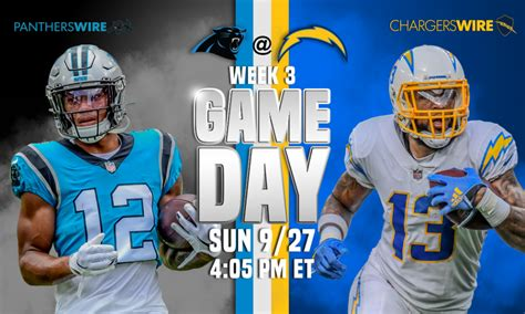 How to watch, listen, stream Chargers vs. Panthers