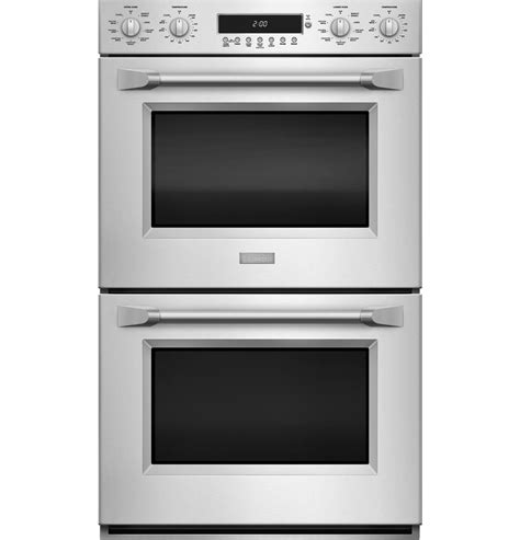 monogram  professional electronic convection double wall oven zetphss ge appliances
