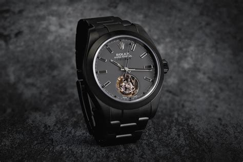 The First Rolex Tourbillon - Created by Customization ...