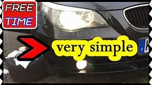 Bmw F10 Lights Nebelscheinwerfer Bmw E60 E61 Weiß Austauschen Replace A