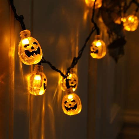 halloween led string lights festival collections