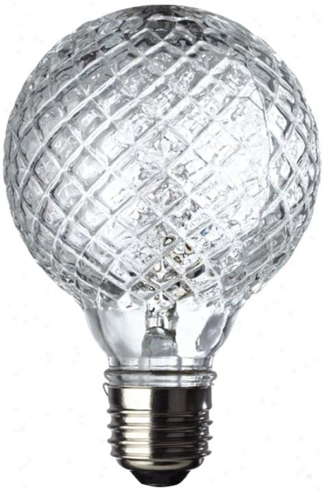 watt halogen faceted  decorative bulb