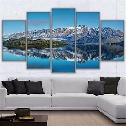 Canvas Mountain Landscape Mountains Painting Spot Favorite