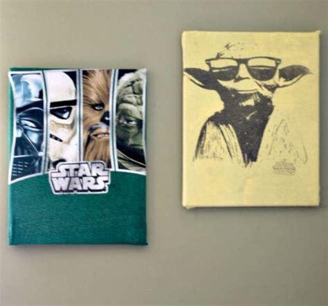 Upcycled Shirt DIY Canvas Art   DIYIdeaCenter.com