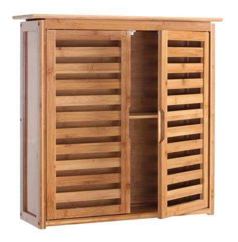 meuble etagere salle de bain armoire 233 tag 232 re meuble pour salle de bain en bambou 60x60x20cm sdb04013 salle de bain wc