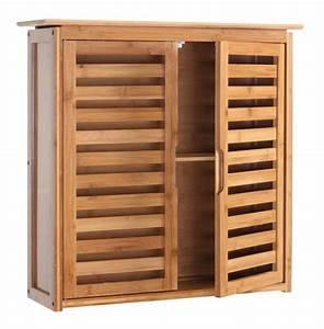 revgercom meuble bambou salle de bain idee inspirante With meuble de salle a manger avec armoire lit