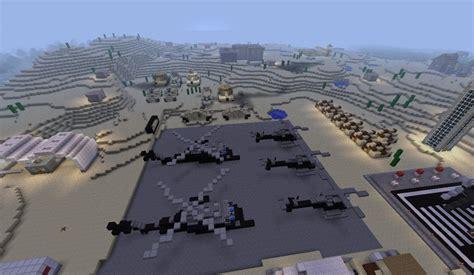 Desert Military Base V1 Minecraft Project