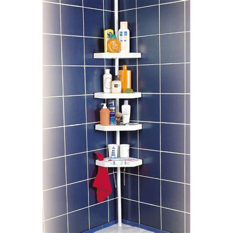 bureau vall2 etagère de bain d 39 angle à poser blanc ottawa