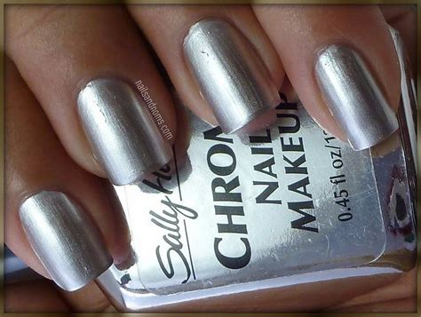 17 Best Images About Sally Hansen Chrome Nail Makeup On