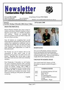 17 best ideas about school newsletter template on With newsletter outline template