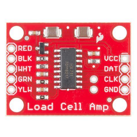 sparkfun load cell lifier hx711