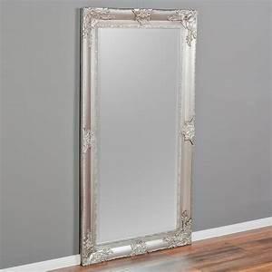 Barock Spiegel Xxl : spiegel marlon xxl silber 200x110cm wandspiegel pomp s ~ Lateststills.com Haus und Dekorationen