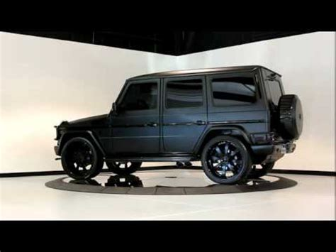 The g63 can be ordered with a custom amg designo mango graphite matte paint.but probably not via mbusa as they don't do the amg studio options in. 2010 Matte Black Mercedes Benz G55 - YouTube