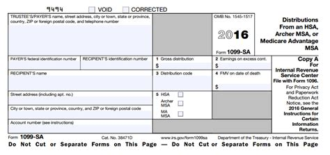 hsa distribution form what is hsa form 1099 sa hsa edge
