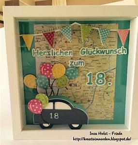 Kreativ Im Norden 18 Geburtstag Hediye Pinterest