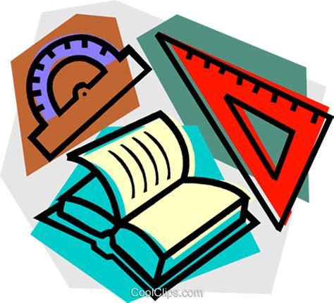 Cool Clip School Project Mathematics Royalty Free Vector Clip
