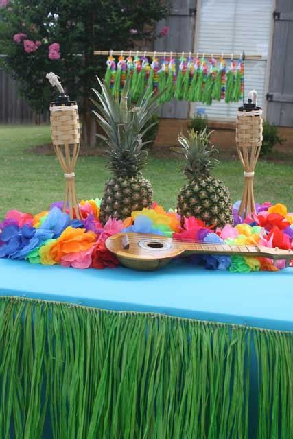 How To Plan Luau Theme Parties  Christmas Lights, Etc Blog