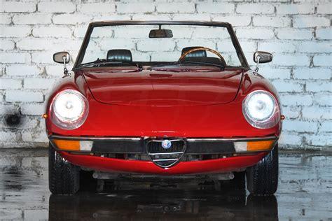 1970 Alfa Romeo Spider by Alfa Romeo Spider 1970 Noleggio Auto Costiera Amalfitana