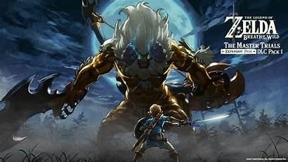 Zelda Monster Breath Wild Legend Link Sword