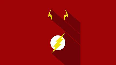 Flash Minimalism Poster, Hd Superheroes, 4k Wallpapers