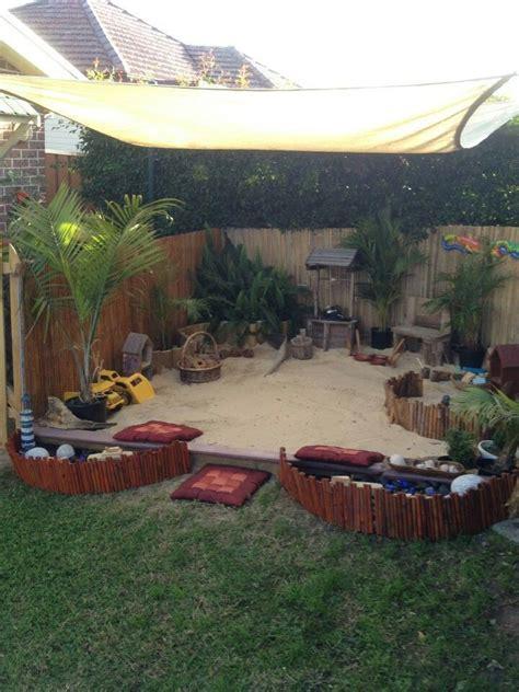 Backyard Sand by Best 20 Sand Pits Ideas On Backyard Pool