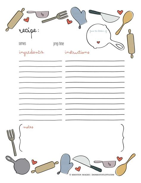Recipe Book Template 44 Cookbook Templates Recipe Book Recipe Cards
