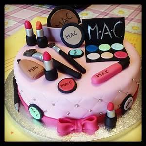 Pin Pin Makeup Cakes Girls Cake On Pinterest Cake On Pinterest