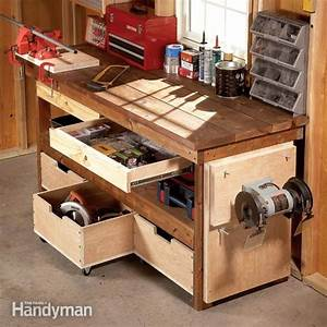 Workbench Plans: Workbenches The Family Handyman