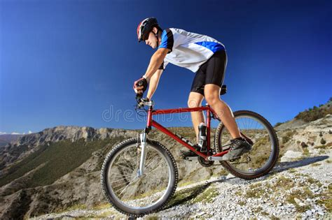 Person Riding A Bike Stock Image Image Of Fast, Male