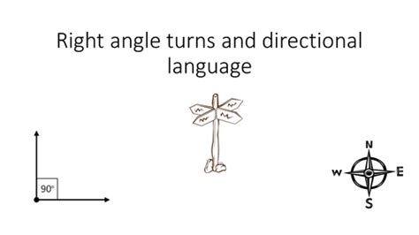 yr 3 4 right angles directional language and compass points by jaydb teaching resources tes