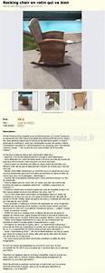 Chaise Le Bon Coin : annonce tr s dr le pour cette chaise en rotin perles du bon coin ~ Teatrodelosmanantiales.com Idées de Décoration