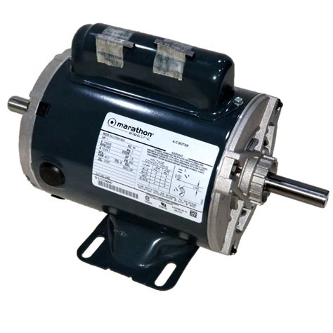 Electric Motor Dealers by Marathon C449 1 Hp 3600 Rpm 115 230 Volts Odp 56z