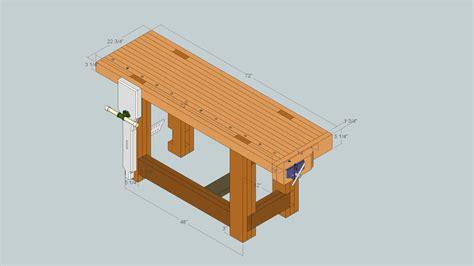 roubo style workbench based   gluebo design